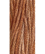 Woodrose (7018) 6 strand hand-dyed cotton floss Gentle Art Sampler Threads - $2.15