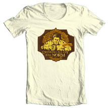 Cheers Norm Peterson T-shirt Free Shipping cotton retro 80s TV Boston  CBS944 image 2