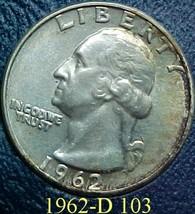 Washington Quarter 1963-D EF 103 - $8.04
