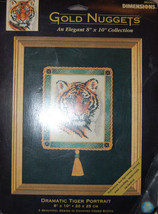 Dimensions Gold Nuggets Dramatic Tiger Portrait Counted Cross Stitch Kit - $24.75