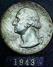 Washington Quarter 1943 AU  - $9.14