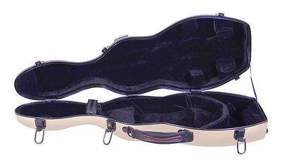 TONARELI Fiberglass Violin 4/4 Full Hard Case - Textured PEARL -NEW