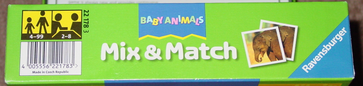 MIX & MATCH BABY ANIMALS GAME 2012 RAVENSBURGER COMPLETE EXCELLENT