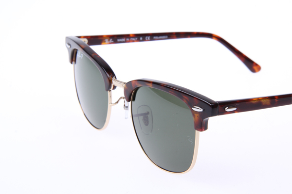 dadcf5c797 Ray Ban Clubmaster Classic RB3016 990 58 Sunglasses with Polarized G-15  Green Le