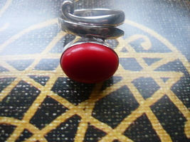HAUNTED  Sanguine Vampire power of a night walker ring size 6.5 - $80.00