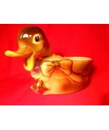Vintage Shawnee Mallard Duck Planter 23 K Gold Trim  No. 720 Pottery - $32.99