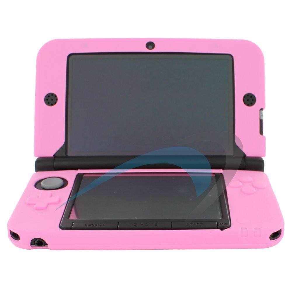 Primary image for Assecure Soft Gel Silicone Cover Case For Nintendo 3DS XL - Pink