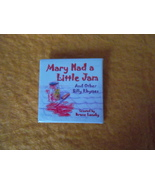 Mary Had a Little Jam and other silly Rhymes~2 inch button~2004~Bruce La... - $8.95