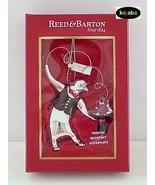 Reed & Barton #6209 Penquin Silverplate Holiday Ornament MIB - $9.95