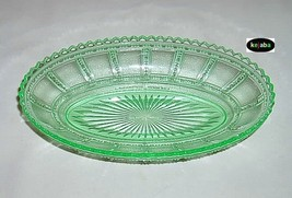 Beaded Block Green Bowl 8 1/2 in. Celery Imperial - $22.95
