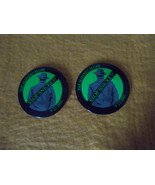 The Slippery Slope~Lemony Snicket~two, 2 1/2 -inch promo buttons~9-23-2003 - $7.95