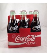 Classic Coca Cola Coke 1986 Unopened Six Pack W/Carrier Collectible - $69.29