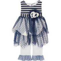 Isobella & Chloe - Baby Girl MARINA_Two Piece Pant Set