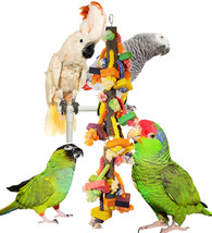 Ropey-Dopey Skinny Yet Long Cage Vertical Chew & Preen Bird Toy - £19.38 GBP
