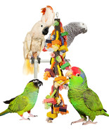 Ropey-Dopey Skinny Yet Long Cage Vertical Chew & Preen Bird Toy - £19.50 GBP