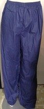Polo Ralph Lauren Warm Up Pants Blue Rain Sweat Workout Extra Large XL NWT - $22.76