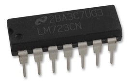1PCS STMicroelectronics LM723CN LM723 Adj. Voltage Regulator IC 2-37V New IC - $6.49