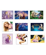 9 Tangled Stickers, Birthday Party Favors, labels, decals, rewards, crafts - $8.99
