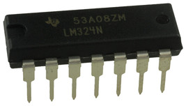 10 x Texas Instruments LM324N LM324 - Free Shipping - New/Authentic - US... - $9.88