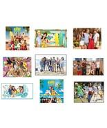 9 Teen Beach Movie Stickers, Birthday Party Favors, Labels, decals, rewards - $8.99
