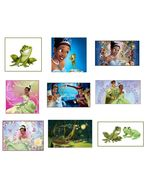 9 Princess and the Frog Stickers, Birthday Party Favors, Decals, Rewards... - $8.99