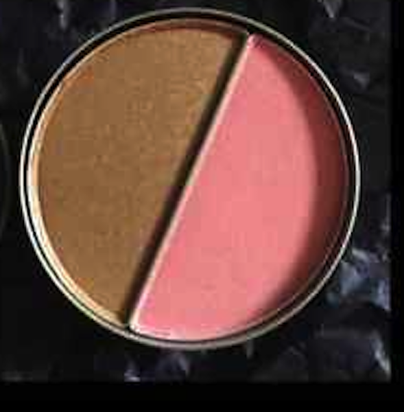 Primary image for Cargo Blush & Bronzer Duo Catalina & Medium Duo-004 Mini Travel Sealed.  No box