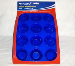 Reynolds Blue Silicone Mini Muffin Cupcake Pan - $19.95