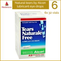 ALCON Artificial Tears Naturale Lubricant Eye Drops 6x 32 Reclosable Vials - $87.10