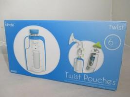Kiinde Breast Milk Storage Twist Pouch (6 oz - Pack of 80) - $34.44