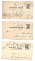UX37 PA 3X Flag Cancels Mechanicsburg Philadelphia Mt Airy and Fiarhill ... - $4.99