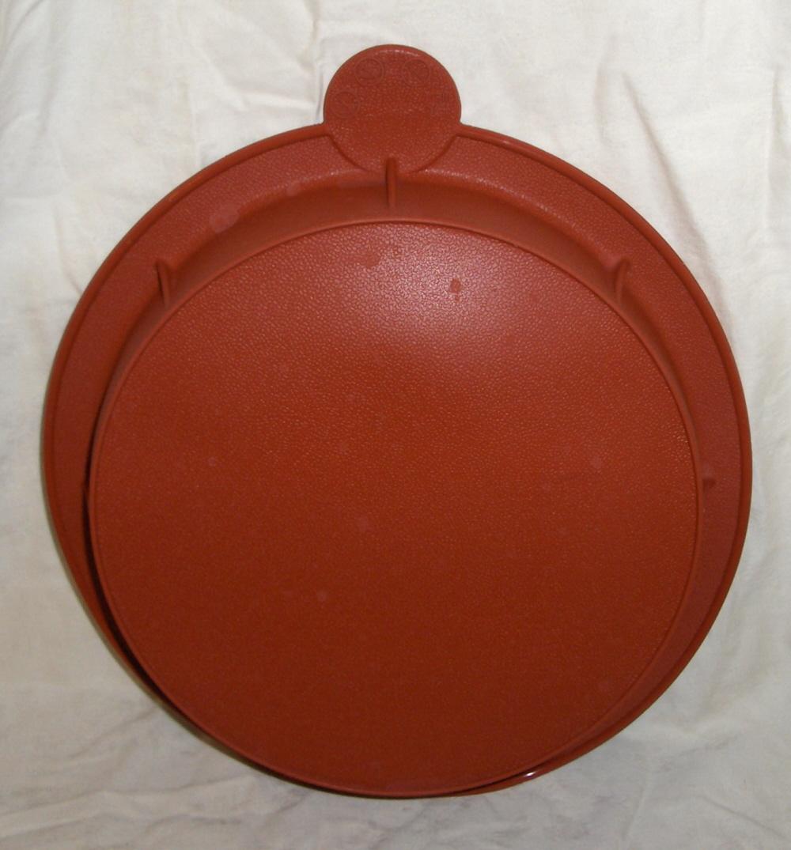 Smartware Terracotta Colored 8 Inch Silicone Round Cake
