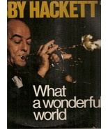 LP-Bobby Hackett With Teresa Brew 	-	 What A Wonderful World - $9.99
