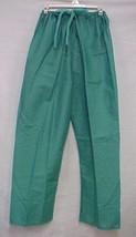 Green Medical MED Scrub Pants Unisex Back Pocket Inside Pocket Drawstrin... - $15.65