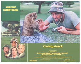 Caddyshack Poster 11 X14 In Bill Murray Carl Gopher Chevy Chase 28 X36 Cm Rare  - $24.99