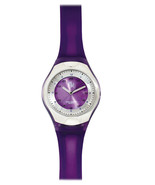 Prestige Medical Scrub Quartz Watch Purple Cyber Gel Water Resistant New - $38.77