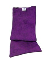 Purple VNeck Top Drawstring Pants SM Unisex Medical Uniforms 2 Piece Scrub Set image 5