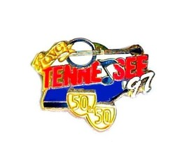 QVC Collectible State Lapel Pin 1997 Tennessee Banjo Music Note 50 in 50 - $12.58