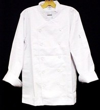 White Chef Coat 4XL CIA Culinary Institute America Double Breasted New 9602 - $39.17