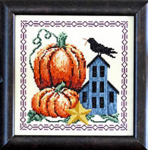 Autumn Blessing cross stitch chart Bobbie G Designs - $7.20