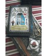 Delaware House Stitch Book cross stitch chart Chessie & Me   - $10.80