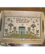 Friendship Garden cross stitch chart Chessie & Me   - $10.80