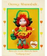 Dumplin Designs Orange Marmalade Crochet Pattern Leaflet CDC 409 1984 - $6.25