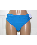 NEW INC International Concepts Solid Blue BLU Swim Bikini Bottom sz 10 #... - $13.65