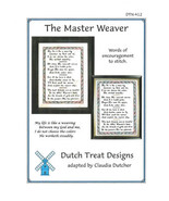 Master Weaver cross stitch chart Dutch Treat Design - $8.10