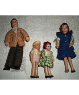 Doll House Family - Family of four  (Vintage) - $20.00