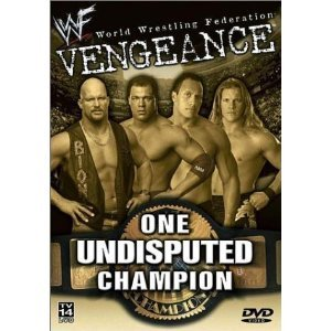 WWE/WWF: Vengeance 2001: One Undisputed Champion Like new DVD Austin Jericho