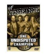 WWE/WWF: Vengeance 2001: One Undisputed Champion Like new DVD Austin Jer... - $14.95