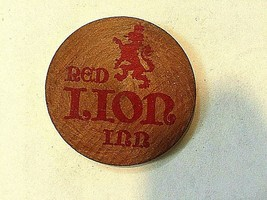 Vintage Red Lion Inn Schlitz Malt Liquor Wooden Token - U of Illinois Ch... - $29.69