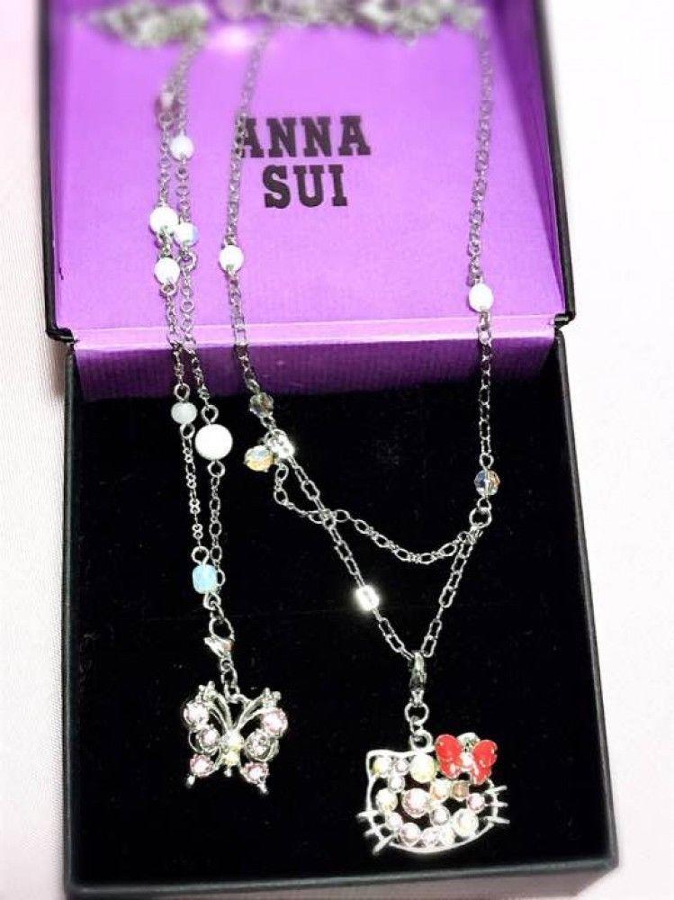 e37918e16b71c6 Anna Sui x Hello Kitty Face Necklace Very and 50 similar items