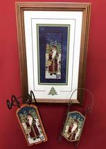 Morning Star Santa cross stitch chart Foxwood Crossings - $8.00